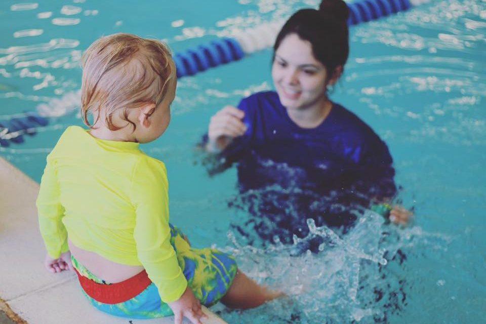 Baby Swim Lesson